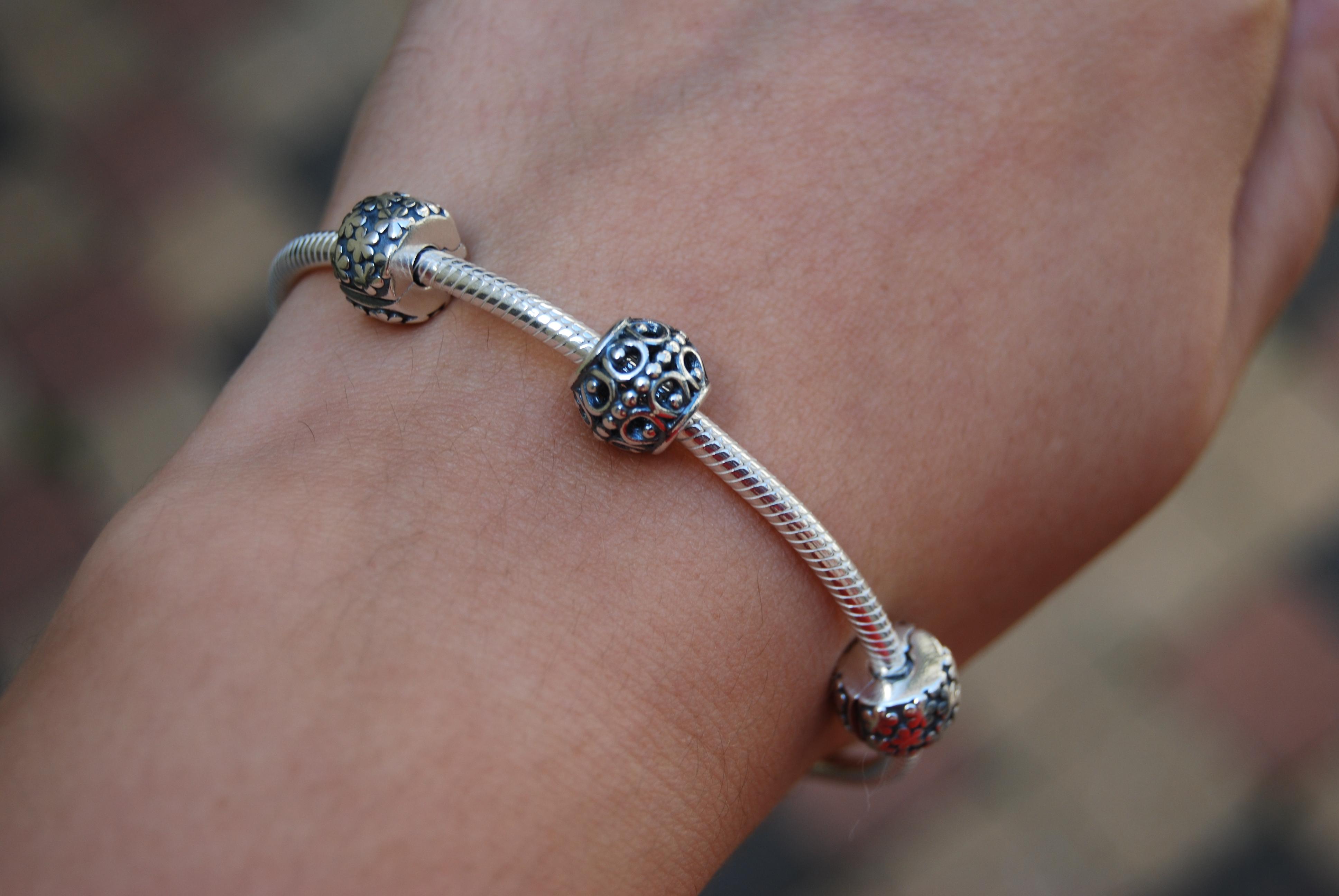 clips bracelet pandora
